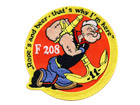 Popeye Embroidered Patches