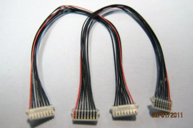 sample 10 wire harness : mini coaxial cabl