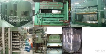sell used hydraulic machines