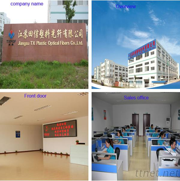 Jiangsu TX Plastic Optical Fibers Co., Ltd.