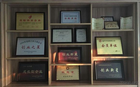 various certificate