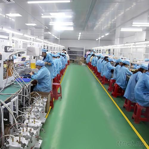 Factory running water