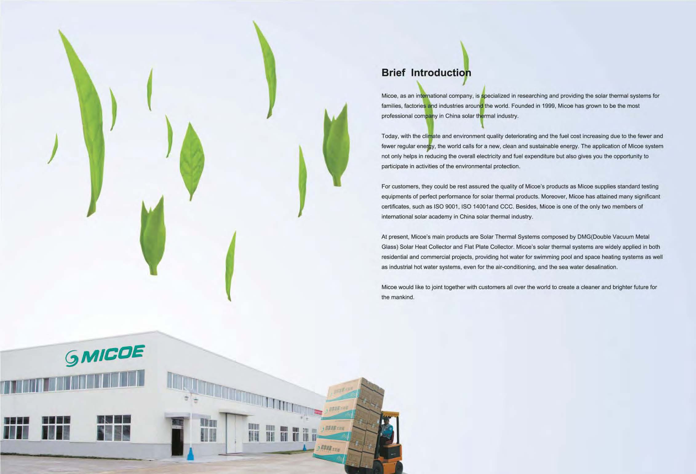 Jiangsu Micoe Solar Energy Co.,ltd
