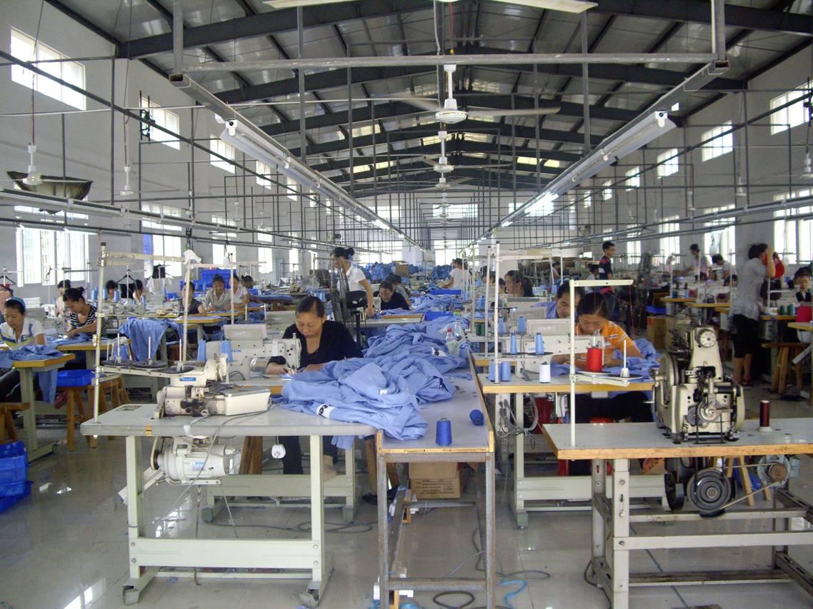 China Mainland Garment Apparel Processing Oem Service