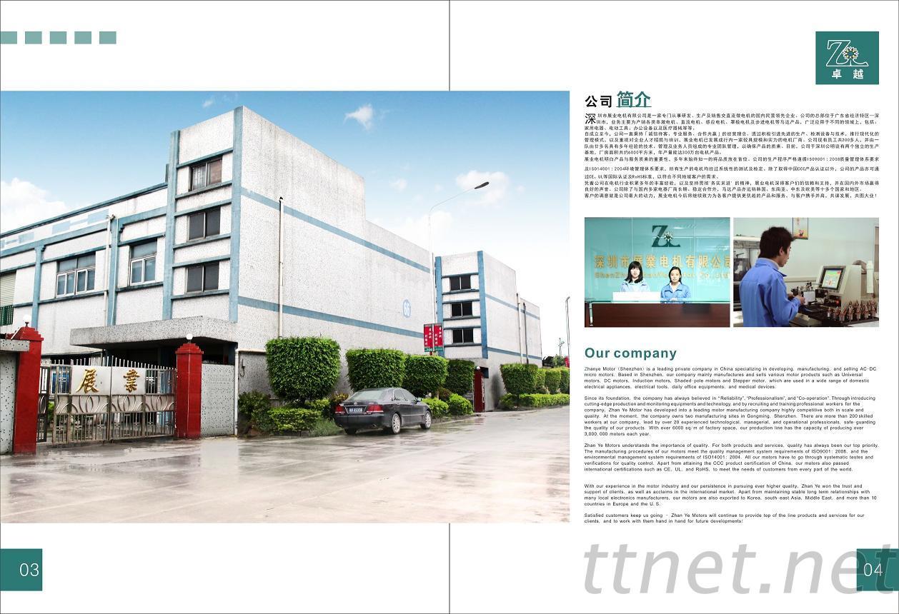 Shenzhen Zhanye Motor Co., Ltd.