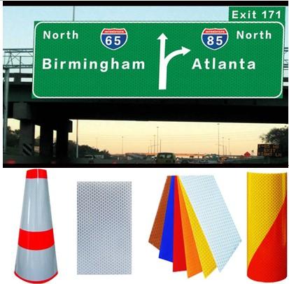 reflective material,reflective road cone