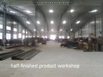 Half-finished product workshop