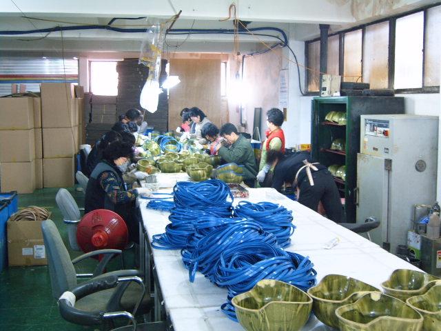 KCI Kevlar Helmet Factory