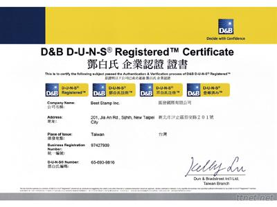 D & B Certification
