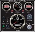 4 in 1 Engine Control Instrument Panel