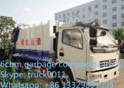Verdichtungsgerät-LKW des heißer Verkaufs-kleiner Abfall-3Cbm-5Cbm