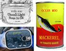 Canned Mackerel, Canned Tuna, Canned Anchovies Of Chinese Origin