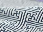 Materia textil del telar jacquar