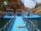 Magic-Floating Pump Platform