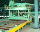 鋼板サンドブラスト機械