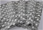 New Arrival Fashionable Composite Lace Fabric, Polyester Printed Chiffon Fabric, Women Lace Fabric