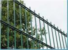 Doppio recinto di filo metallico