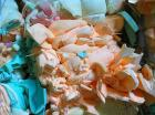 Dry And Clean Recycled Pu Foam Scrap