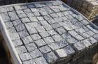 Granite Mesh-Back Cube Stone