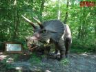 Dinosaur de Triceratops d'Animatronic
