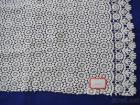 Water Soluble Lace, Embroidered Fabric