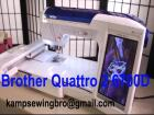 Brother Quattro 2 6700D Sewing Quilting And Embroidery Machine