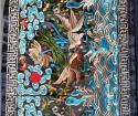 De Chinese Doek van de Bank van de Doek van de Lijst van de Toebehoren van de Stijl van de Stof van het Borduurwerk Etnische Decoratieve Tapijtwerk Geborduurde