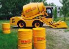 Vrachtwagen van de mixer zou Selfloading kunnen zijn