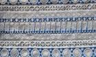 Tela XD50014 del cordón del algodón