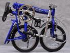 يطوي درّاجة يطوي درّاجة مع 14 بوصات عجلات