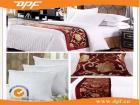 100% بوليستر صنع وفقا لطلب الزّبون فندق سرير وشاح ([دف6199])