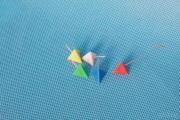 Pin principal do triângulo