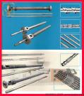 Screw and Barrel for Film Molding Machine