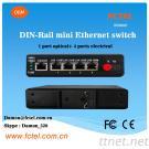 DIN-Rail Mini Ethernet Switch