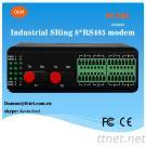 SRing-2008 8*Serial Data Fiber Ring Modem