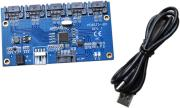 SATA 1 to 5 port Multiplier Card