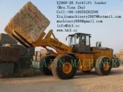 Gabelstapler-Ladevorrichtung XJ968-28D der Kapazitäts-28T CER