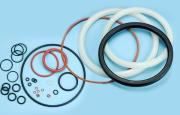Silicone rubber packing seals gasket with any sizes in industrial fields
