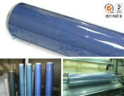 PVC flessibile dei Rolls- dello strato della pellicola del vinile (cloruro di polivinile)