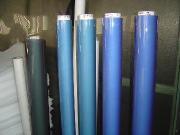 Пластичный лист для машины обрабатывая гибкий лист винила (PVC)