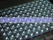 太陽エネルギーのためのケイ素ガラスのSogフレネルレンズ
