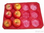 Wegwerfplastikbehälter für Frucht