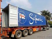 Guangzhou To Singapore Sea/Air Double Clear Door To Door