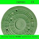 Oval SMC BMC Manhole Cover