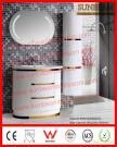 PVC Floor Mounted Bathroom Cabinet, Bathroom Furniture, Bath Vanity Unit