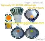 Aluminium Die Casting 3W 4W 5W 6W COB LED Spotlight MR16 GU10 LED Spot Light