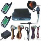 FM Two Way LCD Display Screen Car Alarm System