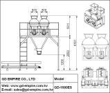 Automatische Aufbauschung-Maschine