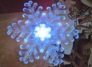 LED Christmas snowflakes,lighted christmas decoration,wholesale fashion LED christmas snowflakes