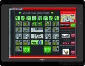 MT104-TST Human Machine Interface